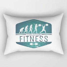 Evolution Fitness | Workout Training Muscles Rectangular Pillow