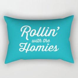 Rollin' With The Homies Rectangular Pillow