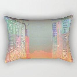 Open Gates / Spatial sluices / Entrance to summer Rectangular Pillow