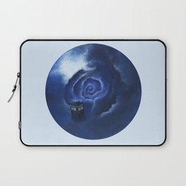 Through Time and Space Laptop Sleeve