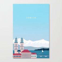 Zürich Canvas Print