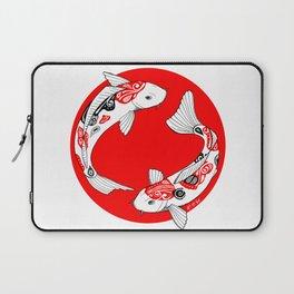 Japanese Kois Laptop Sleeve