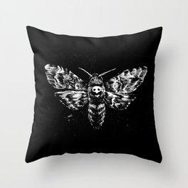 Deaths Head Throw Pillow