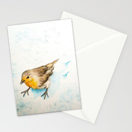 A winter morning Stationery Cards