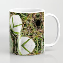 Kaleidoscope of puffball fungus Coffee Mug