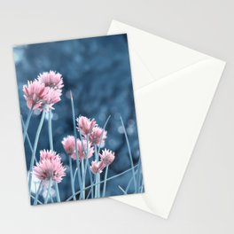Allium pink 0173 Stationery Cards