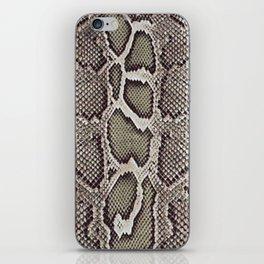 Faux Boa Constrictor Snake Skin Design iPhone Skin
