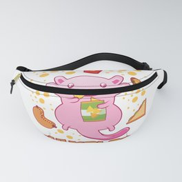 Snaxolotl I Funny Kawaii Axolotl Snack Aquarium Fan Gift design Fanny Pack