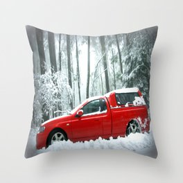 No traction, no chains, no Grip! Throw Pillow