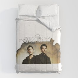 Destiel Castiel Supernatural Comforters