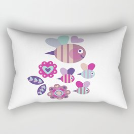 Bee Lovely Rectangular Pillow