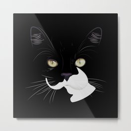 Louis The Cat Metal Print