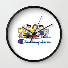 Snoopy and The Peanuts Gang Wall Clock