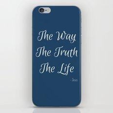 Way, Truth, Life iPhone & iPod Skin
