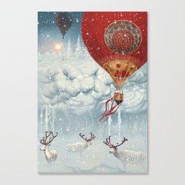 WinterFly Canvas Print
