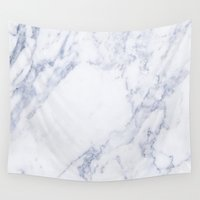 marble Wall Tapestries featuring Marble by Be Wise