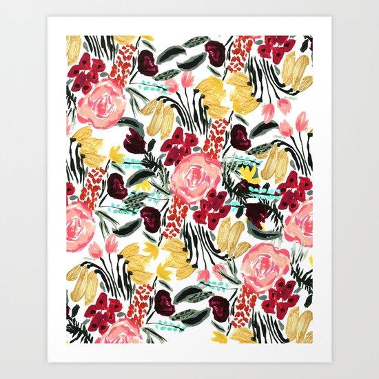 Wild Garden II Art Print