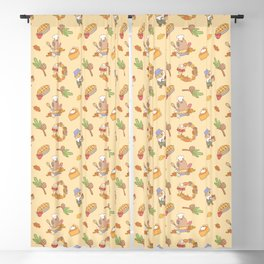Bubu the Guinea pig, Fall and Pie Blackout Curtain