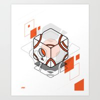 technology Art Prints featuring technology by jocsign