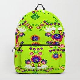 Polish folk pattern Backpack