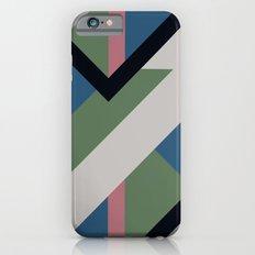 Modernist Dazzle Ship Camouflage Design iPhone 6s Slim Case