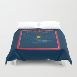 mr. 45 .. fake cover russia Duvet Cover