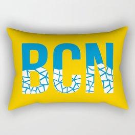Barcelona BCN Airport Rectangular Pillow