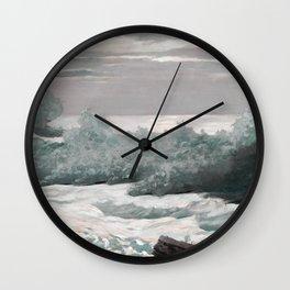 Early Morning After a Storm at Sea, WinslowHomer Wall Clock
