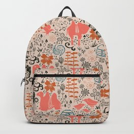 Mongolian Expanse Pattern Backpack