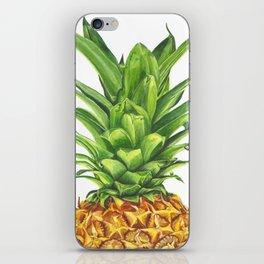 Watercolor Pineapple iPhone Skin