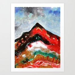 Hornocal Art Print
