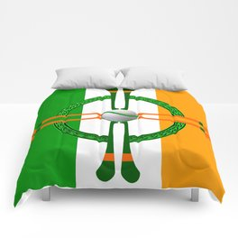 Hurley and Ball Celtic Cross Design Comforters