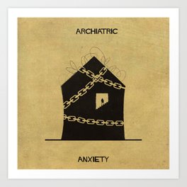 07_Archiatric_anxiety Art Print