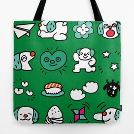 A dog's fun life! Shih Tzu Tote Bag