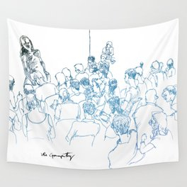 Drink N' Draw Wall Tapestry