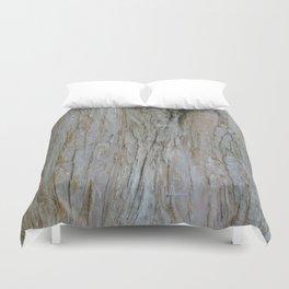 TEXTURES -- Dawn Redwood Bark Duvet Cover