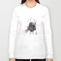 dark side Long Sleeve T-shirts featuring Dark Side by SpooksieBoo
