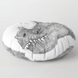 Party Dinosaur Floor Pillow