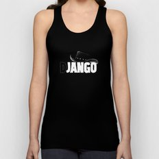 The D is silent Unisex Tank Top
