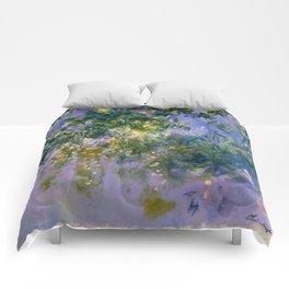 "Claude Monet ""Wisteria"", 1920 (right side) Comforters"