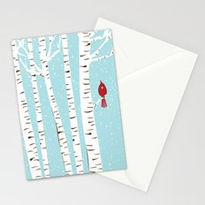 Winter Cardinal Wall Art  Stationery Cards