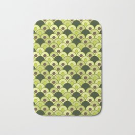 avocados in art deco Bath Mat