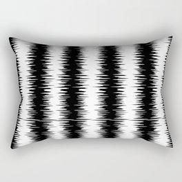 JAGGARD EDGE Rectangular Pillow