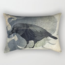 From a raven child Rectangular Pillow