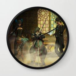 Steampunk Syndicate Wall Clock