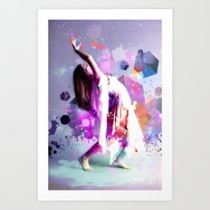 Ascending Angels Art Print