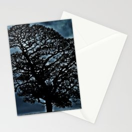 Tree. A simple tree. Stationery Cards