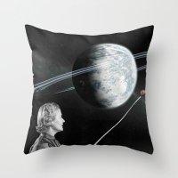 teacher Throw Pillows featuring Teacher by Cs025