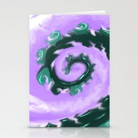 psych Stationery Cards featuring Psych Tentacle by ShinyKiiwii