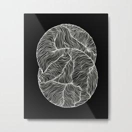 Inverted Infinity Metal Print